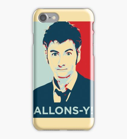 Tenth Doctor - Allons-y iPhone Case/Skin