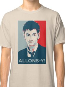Tenth Doctor - Allons-y Classic T-Shirt