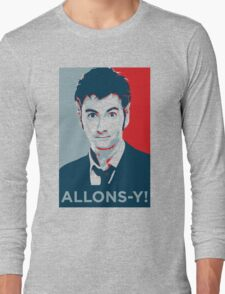 Tenth Doctor - Allons-y Long Sleeve T-Shirt