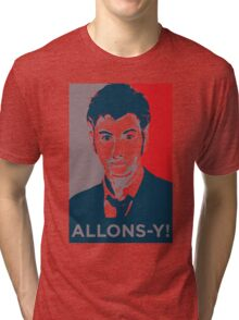 Tenth Doctor - Allons-y Tri-blend T-Shirt