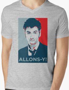 Tenth Doctor - Allons-y Mens V-Neck T-Shirt