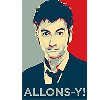 Tenth Doctor - Allons-y Photographic Print