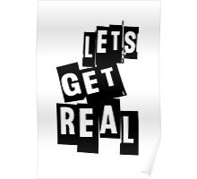 Let's Get Real Poster