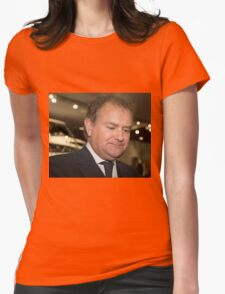 Hugh Bonneville British actor from Downton Abbey  Womens Fitted T-Shirt