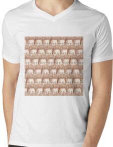 Tilda Eyes Mens V-Neck T-Shirt