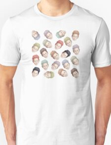 Tilda Heads and Hair Color T-Shirt