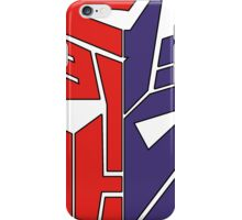 Transformers Autobot/Decepticon iPhone Case/Skin
