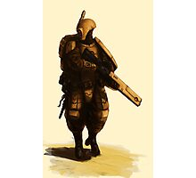 Tau - Fire Warrior Photographic Print