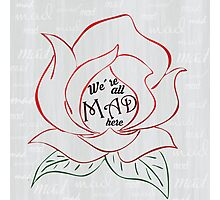 We're all MAD Photographic Print