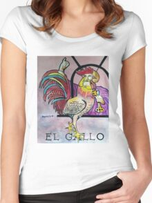 El gallo Women's Fitted Scoop T-Shirt