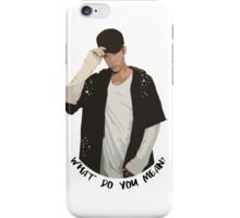 WDYM iPhone Case/Skin