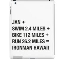 Ironman Hawaii iPad Case/Skin