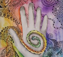 Reiki - for Michelle by Picatso