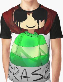 Undertale - Chara ERASE Graphic T-Shirt