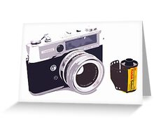 Film camera Greeting Card