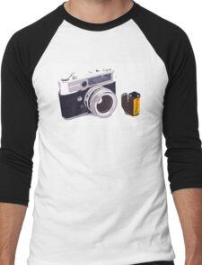 Film camera Men's Baseball ¾ T-Shirt