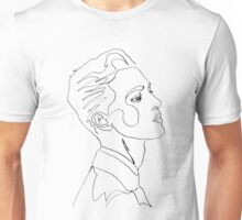 Continuous line drawing  Unisex T-Shirt
