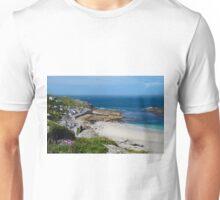SENNEN COVE VIEW, CORNWALL Unisex T-Shirt