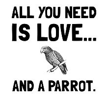 Love And A Parrot by AmazingMart