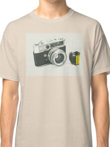 Retro photography Classic T-Shirt