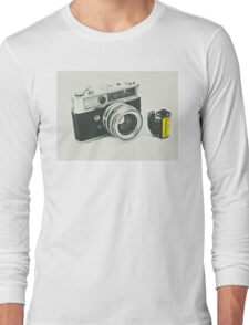 Retro photography Long Sleeve T-Shirt