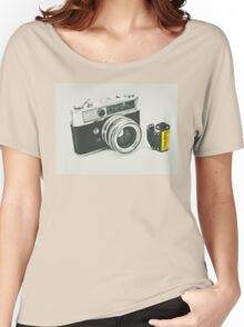 Retro photography Women's Relaxed Fit T-Shirt