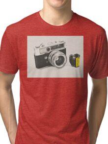 Retro photography Tri-blend T-Shirt