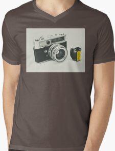 Retro photography Mens V-Neck T-Shirt