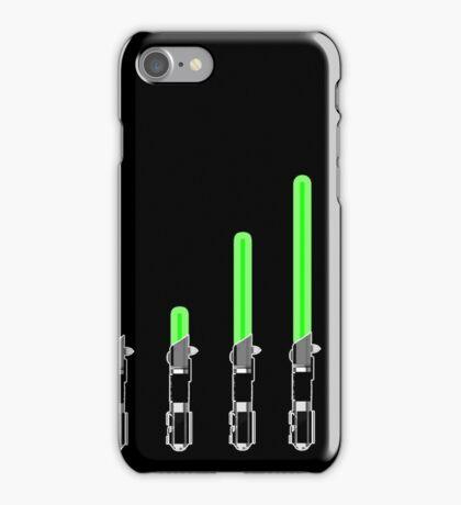 Starwars art - lightsabre iPhone Case/Skin