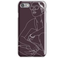 Young God (Halsey Outlines) iPhone Case/Skin