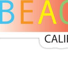 Venice Beach T-shirt, Sticker, iPhone Case, Tablet Case, Print, Mug and More Sticker