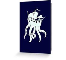 Shiptopus Greeting Card