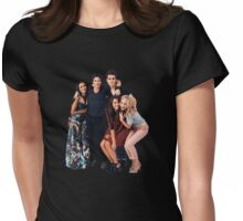 Vampire Diaries cast 2 Womens Fitted T-Shirt