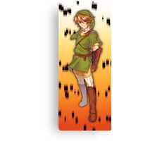 Legend of Zelda: Twilight Princess Link Canvas Print