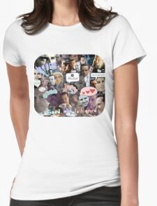 Moriarty (Collage) Womens Fitted T-Shirt