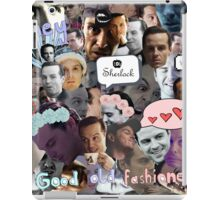 Moriarty (Collage) iPad Case/Skin