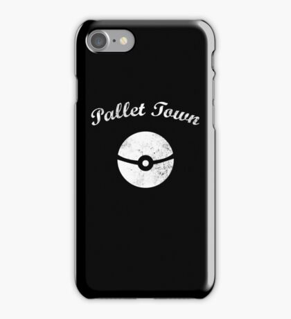Pokémon - Pallet Town iPhone Case/Skin