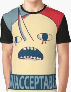 Unacceptable Lemongrab Graphic T-Shirt