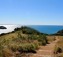 Bluff Point scenic walk, Capricorn Coast. QLD. Australia. by Margaret Stanton