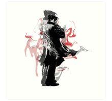 Jin Kazama Art Print