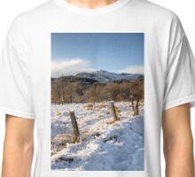 Winter Wonderland in Central Scotland Classic T-Shirt