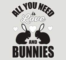 All you need is love and bunnies!  by nektarinchen