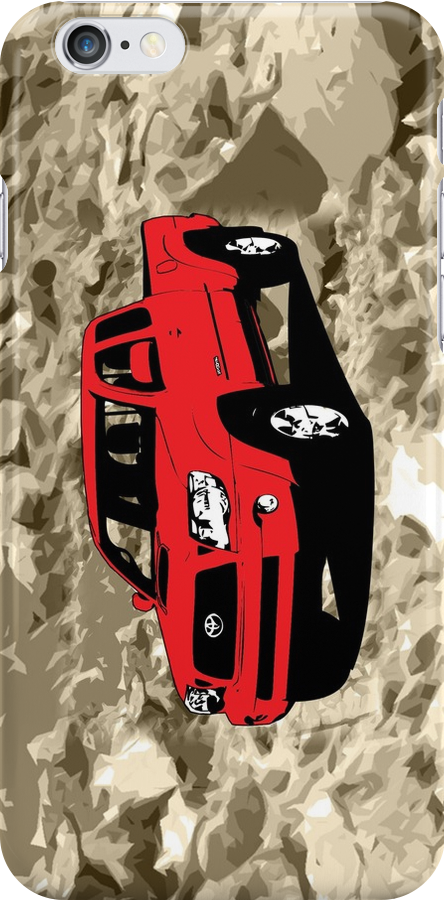 Toyota Tacoma iphone case, Tee Shirt, and stickers by Kgphotographics