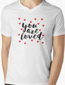 You are Loved Mens V-Neck T-Shirt