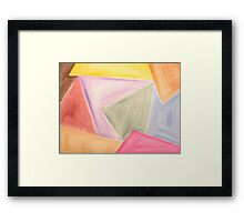ABSTRACT 473 Framed Print