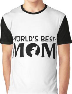 World's best rabbit mom Graphic T-Shirt