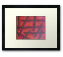 ABSTRACT 458 Framed Print