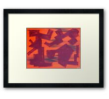 ABSTRACT 455 Framed Print