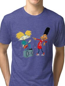 hey arnold Tri-blend T-Shirt