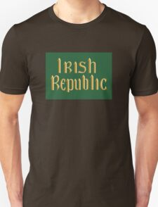 Irish Republic flag flown during the Easter Rising 1916 T-Shirt